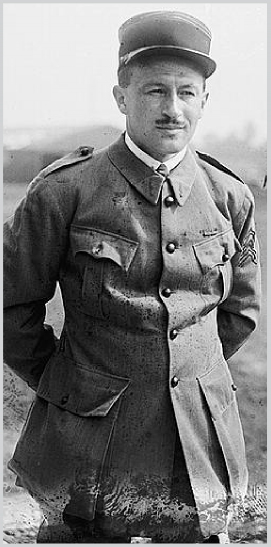 Captain Thenault - Commanding Officer of the Lafayette Escadrille