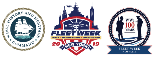 fleet week three logos