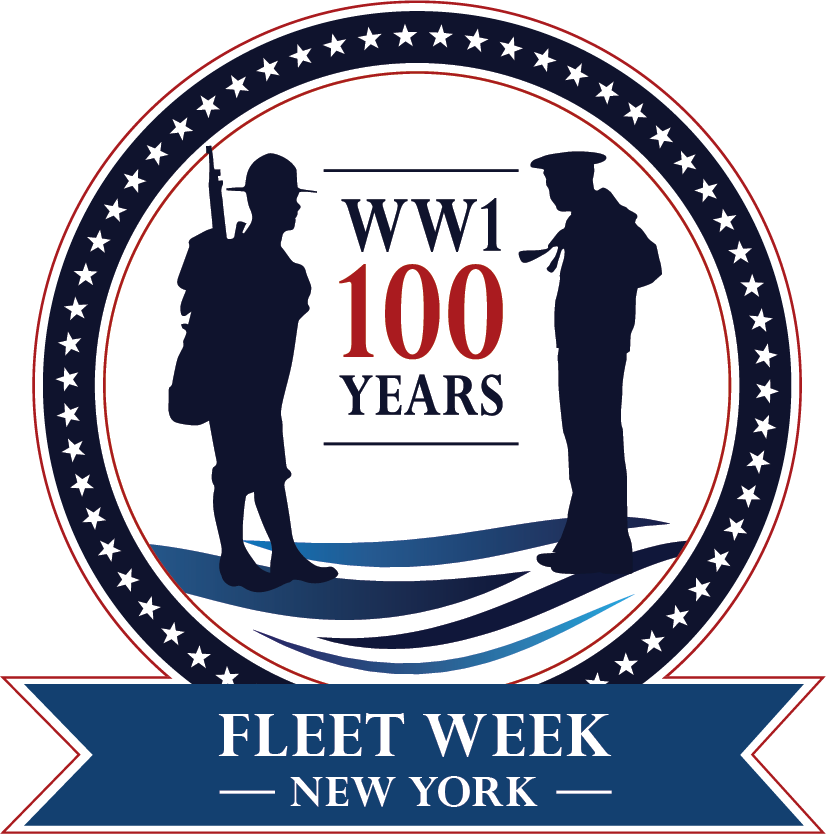 wwi navy centennial logo flag updated