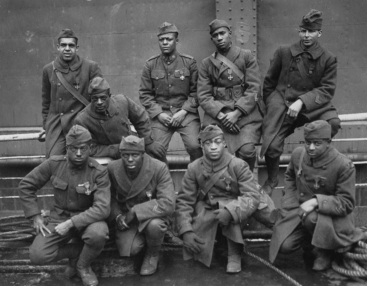 African-American Winners of the Croix De Guerre from the 369th Regiment, 1919