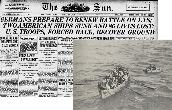 Newspapers and lifeboats