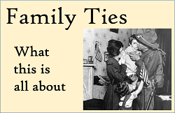 About Family Ties Button