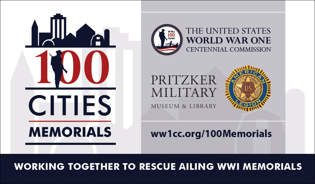 Teaming up with the American Legion for the 100 Cities / 100 Memorials Project
