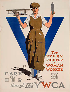 YWCA Recruiting poster