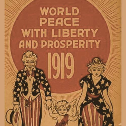 New Year Poster from 1919